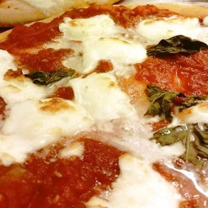 pizza gourmet margherita