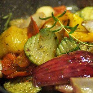 verdure arrostite al forno